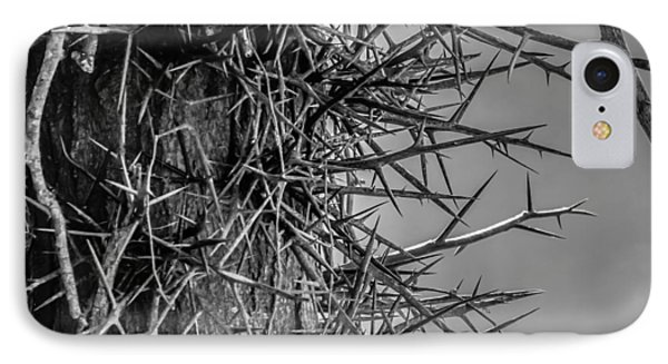 IPhone Case featuring the photograph Thorny Locust Tree by Brian Stevens