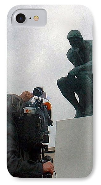 IPhone Case featuring the photograph Thought Picture by Marc Philippe Joly