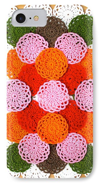 Thread On Canvas IPhone Case by Lorna Maza