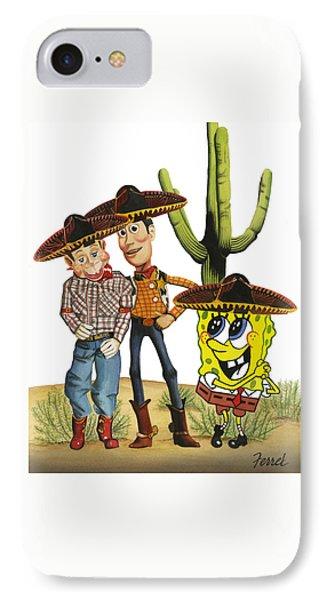 Three Amigos IPhone Case by Ferrel Cordle