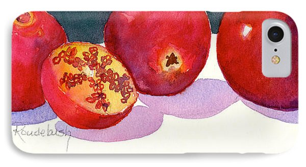 Three And A Half Pomegranates IPhone Case