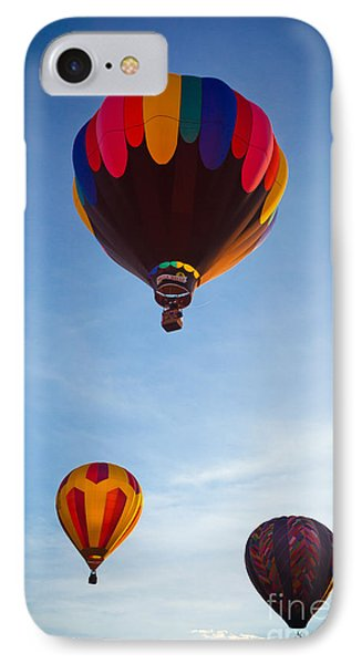 Three Balloons Phone Case by Inge Johnsson