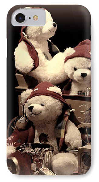 Three Bears Creative IPhone Case