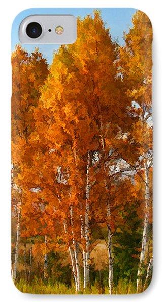 Three Birches IPhone Case