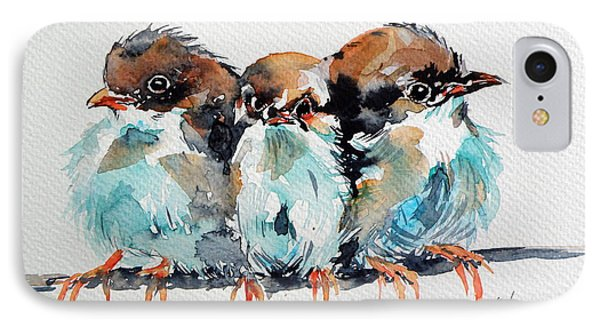 Three Birds IPhone Case by Kovacs Anna Brigitta