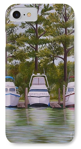 Three Boats IPhone Case