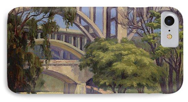 Three Bridges IPhone Case by Jane Thorpe