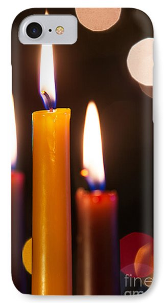 Three Candles IPhone Case by Carlos Caetano
