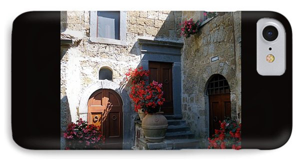 Three Doors In Bagnoregio IPhone Case