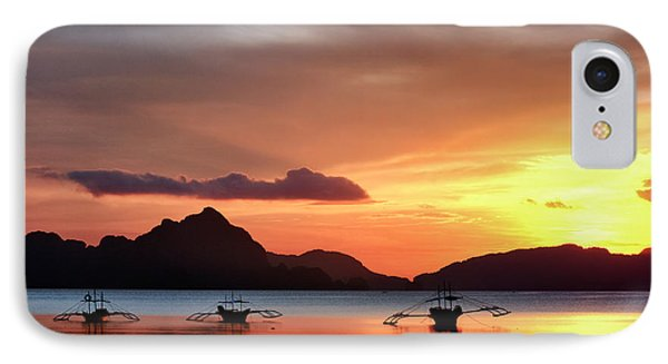 IPhone Case featuring the photograph Three Fishermen by John Swartz
