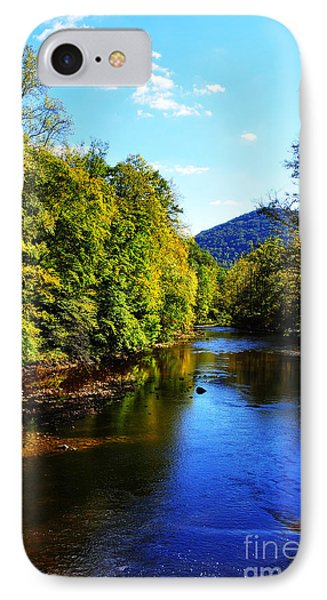 Three Forks Williams River Early Fall IPhone Case
