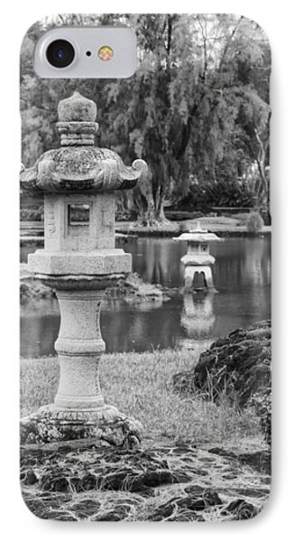 IPhone Case featuring the photograph Three Lanterns by Harold Rau