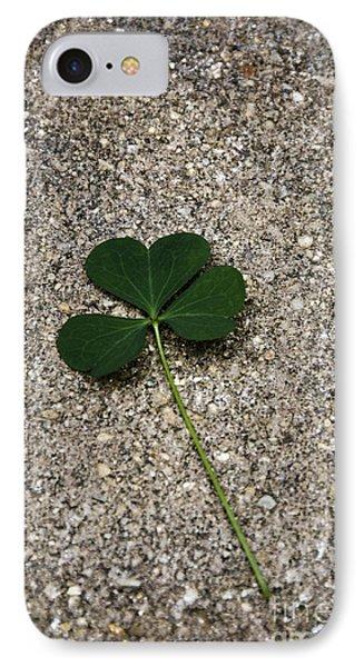 Three Leaf Clover IPhone Case