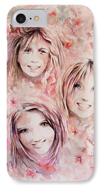 Three Miracles Phone Case by Rachel Christine Nowicki