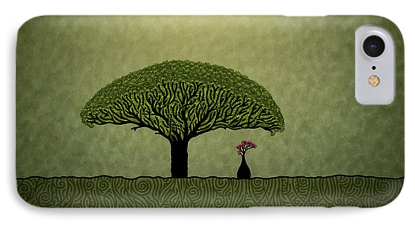 Three Of Green IPhone Case by Gianfranco Weiss