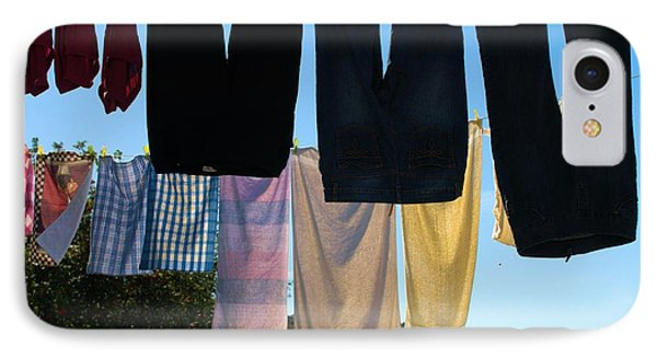 IPhone Case featuring the photograph Three Pairs Of Jeans by Douglas Pike