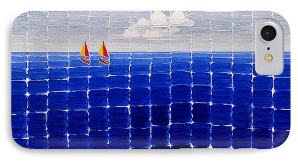 Three Sail Boats #2 IPhone Case
