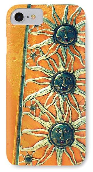 Three Suns IPhone Case