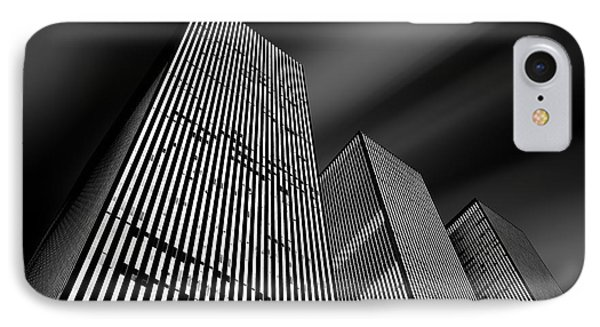 Three Towers IPhone Case by Az Jackson