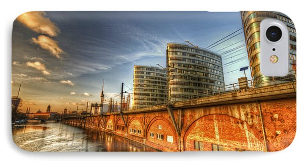Three Towers Berlin Phone Case by Nathan Wright
