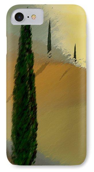 Three Tree Tuscany IPhone Case