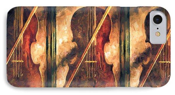 Three Violins Phone Case by Bob Orsillo