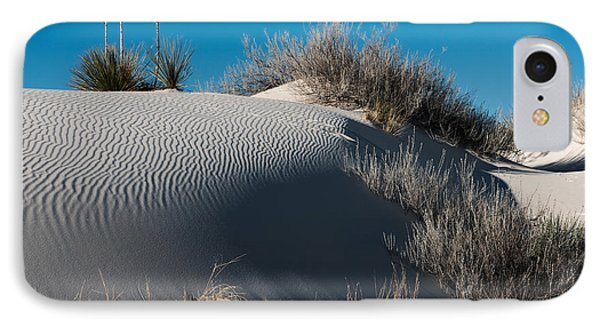 IPhone Case featuring the photograph Three Yuccas On The Dune by Sherry Davis