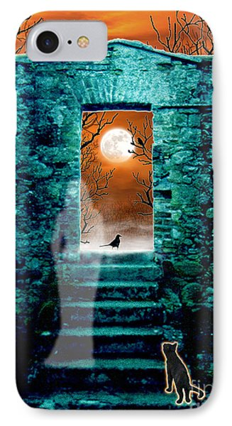 IPhone Case featuring the digital art Threshold by Cristophers Dream Artistry