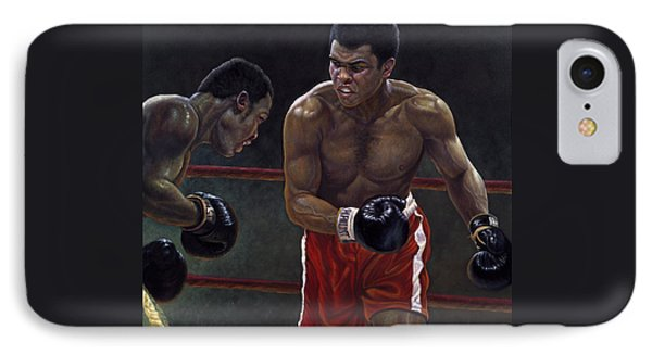 Thrilla In Manilla IPhone Case