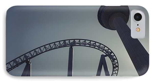IPhone Case featuring the photograph Thrilling Curves by Ari Salmela