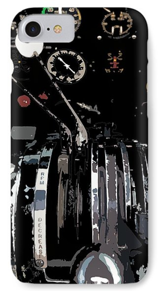 Throttles IPhone Case by Julio Lopez