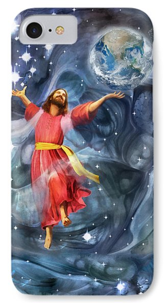 Through Him IPhone Case by Francesa Miller