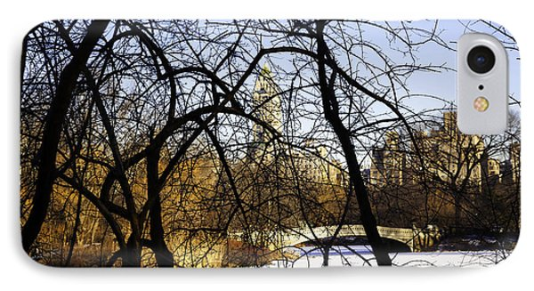 Through The Branches 3 - Central Park - Nyc Phone Case by Madeline Ellis