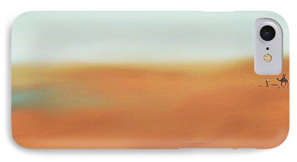 Through The Desert Phone Case by Hannes Cmarits