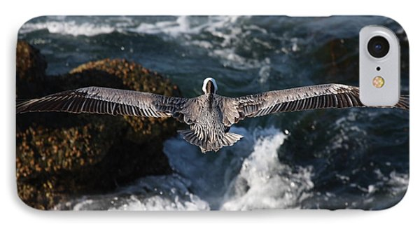 Through The Eyes Of A Pelican IPhone Case by Nathan Rupert