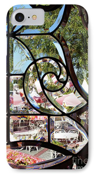 Through The Looking Glass Phone Case by Linda Shafer