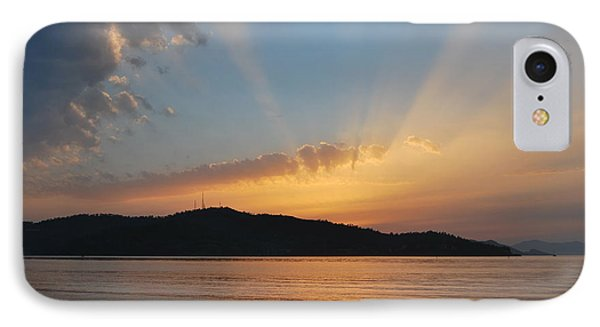 Through The Rays IPhone Case by Erhan OZBIYIK