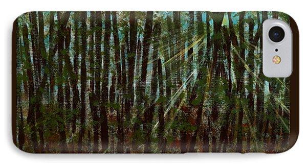 Through The Trees Phone Case by Hillary Binder-Klein