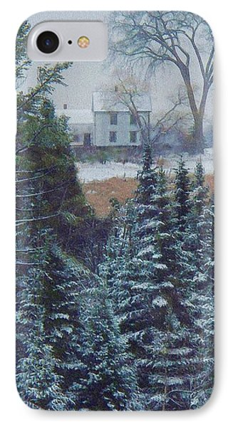 Through The Trees IPhone Case by Joy Nichols