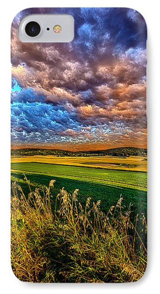 Through The Valley IPhone Case by Phil Koch