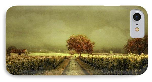 Through The Vineyard IPhone Case