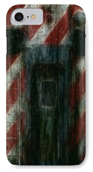 Through The Window On A Rainy Day In May IPhone Case by Jack Zulli