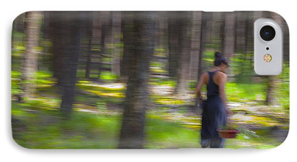 Through The Woods 2 Phone Case by Theresa Tahara