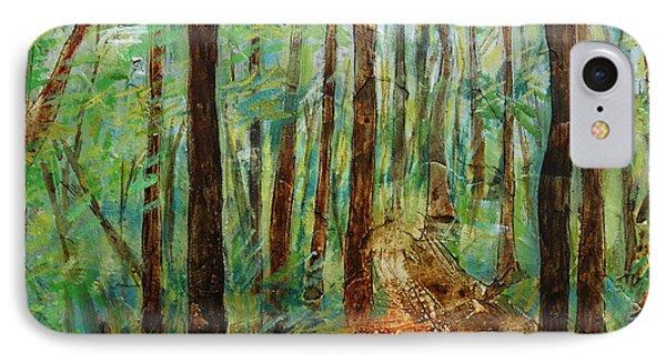Through The Woods IPhone Case by Ronex Ahimbisibwe