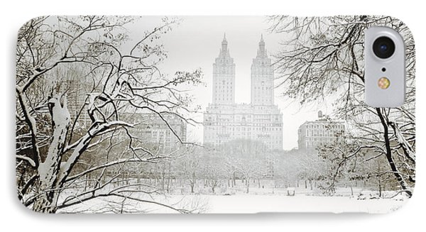 Through Winter Trees - Central Park - New York City IPhone Case by Vivienne Gucwa