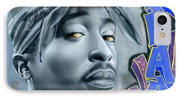 Thug Life IPhone Case by Luis  Navarro