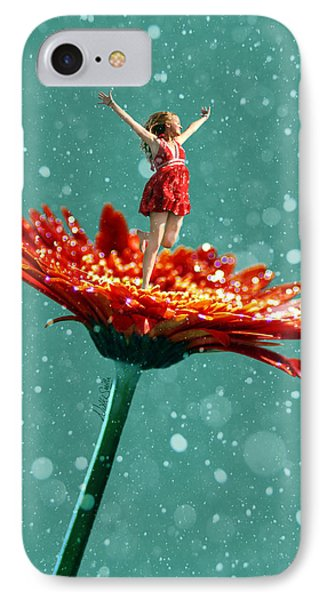 Thumbelina All Grown Up Phone Case by Nikki Marie Smith