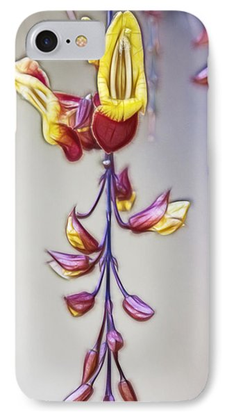 Thunbergia IPhone Case by Photographic Art by Russel Ray Photos