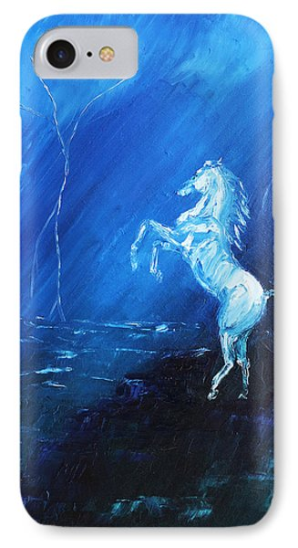 Thunder And Lightning IPhone Case by Patricia Olson