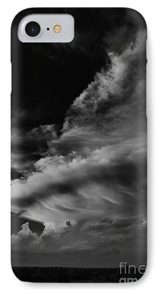 IPhone Case featuring the photograph Thunder Cloud by Karen Slagle